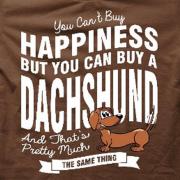 I Luv DACHSHUND/Brown